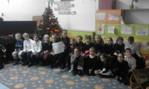 Jasełka w klasie 1 c