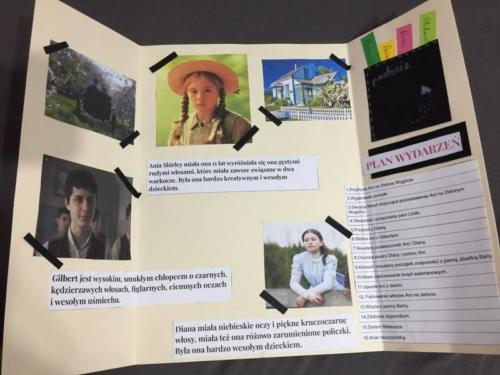 """Projekt klasy 6 c """"Ania z Zielonego Wzgórza"""""""